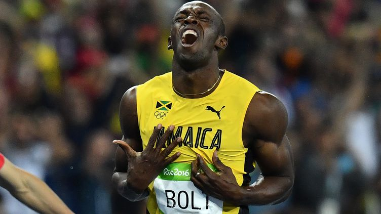 Usain Bolt, de roi à légende (JEWEL SAMAD / AFP)