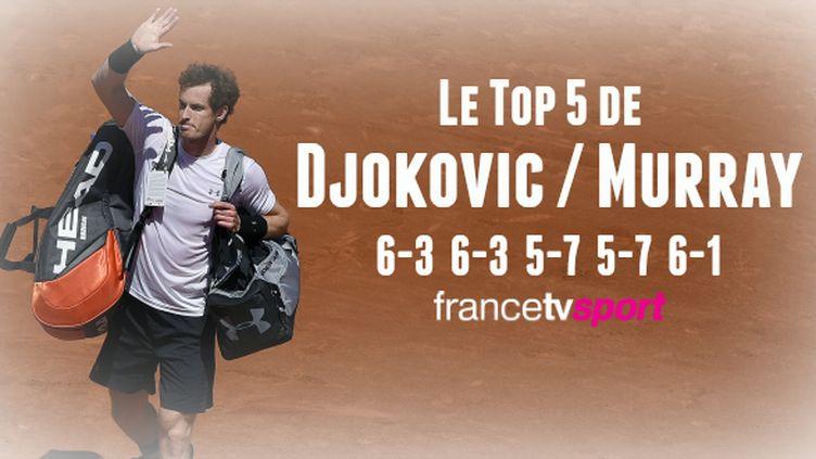 Bien que défait par le numéro un mondial, Andy Murray s'est montré héroïque en défense pour renverser le match en milieu de partie et finalement pousser Novak Djokovic jusqu'au cinquième set.