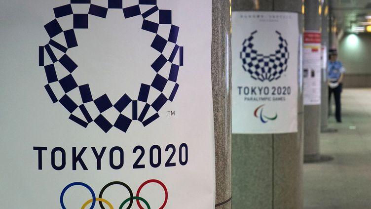 Les torches et les médailles olympiques de Tokyo 2020 seront conçues à partir de matériaux recyclés provenant de Fukushima. (KAZUHIRO NOGI / AFP)