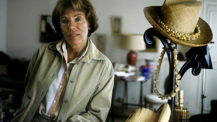 La romancière et féministe Benoîte Groult, en 1983. (ULF ANDERSEN / AFP)