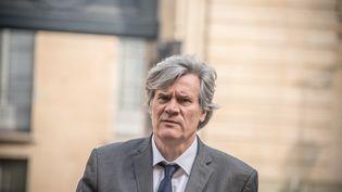 Stéphane Le Foll, ministre de l'Agriculture, à l'Elysée, à Paris, le 18 mars 2016. (YANN KORBI  /CITIZENSIDE / AFP)