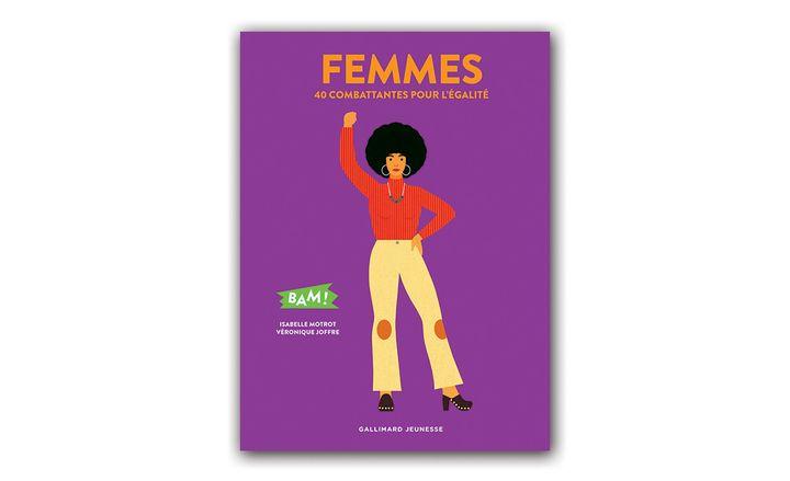 """Couverture """"Femmes"""", Gallimard Jeunesse"""
