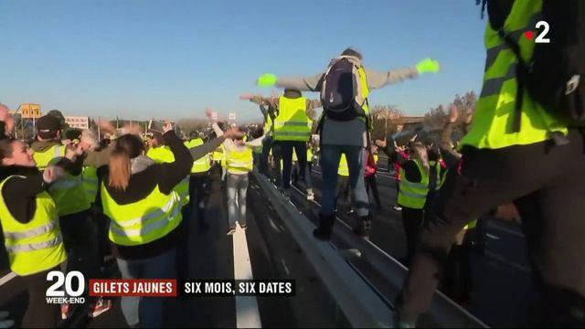 """""""Gilets jaunes"""" : retour en six dates sur six mois de crise sociale"""