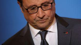 François Hollande, le 7 novembre 2016, à Paris. (CHRISTIAN HARTMANN / REUTERS)