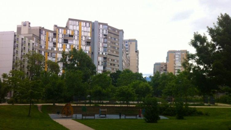 (Le quartier de la Villeneuve, au sud de Grenoble. © Radio France)