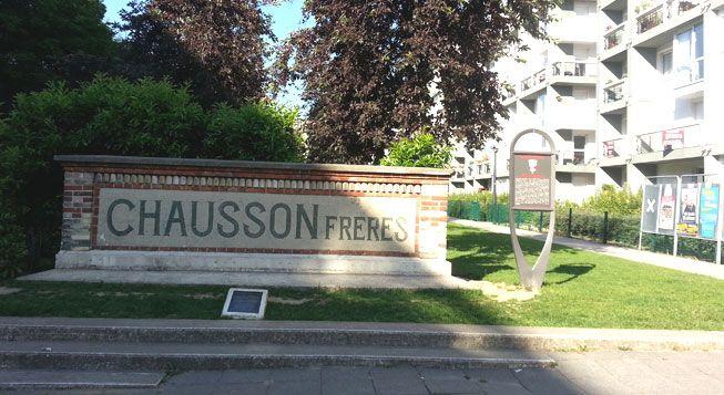 (Un nouveau quartier a poussé sur les vestiges des ateliers Chaussons à Asnières © Radio France/Anne-Laure Barral)
