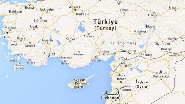 A Antakya (Turquie), un manifestant a été tué le 9 septembre 2013, est une villesituée à proximité de la frontière syrienne. ( GOOGLE MAPS / FRANCETV INFO )