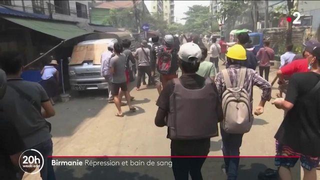 Birmanie : répression et scènes de chaos