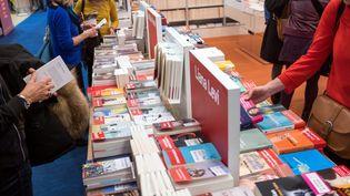 Le salon Livre Paris en mars 2019, porte de Versailles (BRUNO LEVESQUE / MAXPPP)