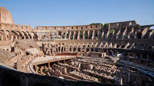 Vue intérieure du Colisée à Rome en Italie, juillet 2020 (PICTURE ALLIANCE / PICTURE ALLIANCE)