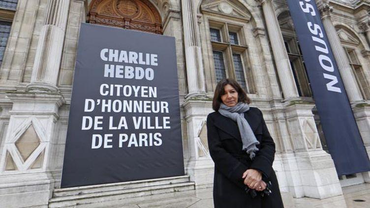 (Anne Hidalgo la maire de Paris veut porter plainte contre Fox News © REUTERS/Jacky Naegelen)