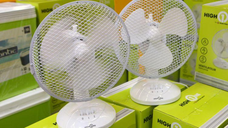 Le site de commerce en ligne Cdiscount a rapporté une hausse des ventes de climatiseurs et ventilateurs de l'ordre de 200% par rapport à la semaine dernière. (MAXPPP)