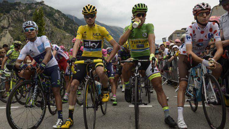 Froome, Quintana, Sagan, Bardet, ils ont fait le Tour 2915 (LIONEL BONAVENTURE / AFP)