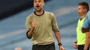 2 matches, 2 victoires face à Zidane pour Pep Guardiola. (OLI SCARFF / POOL)