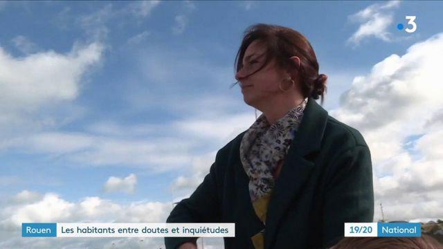 Incendie à Rouen : les habitants entre doutes et inquiétudes