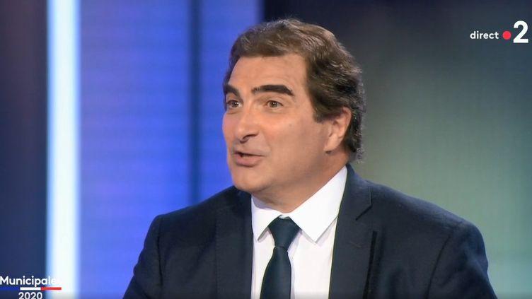 Christian Jacob, président du parti Les Républicains, sur le plateau de France 2 le dimanche 28 juin 2020. (FRANCE 2)
