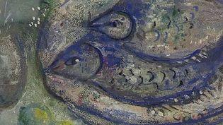 """""""Les limandes"""" de Marc Chagall  (France 3 / culturebox / capture d'écran)"""