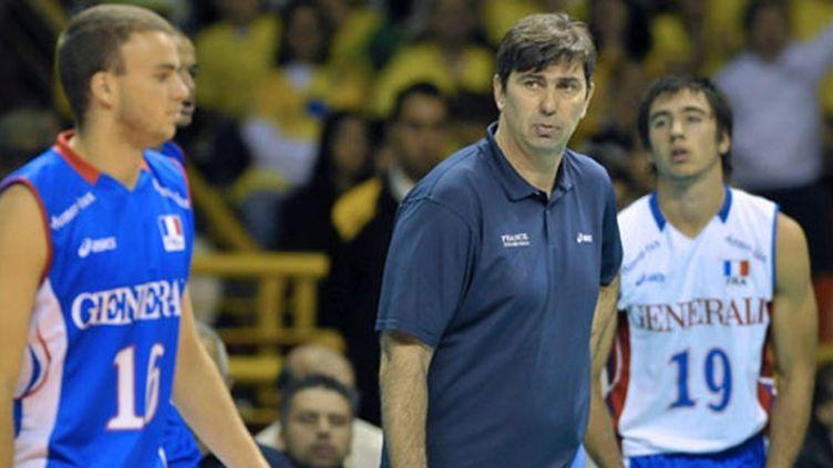 Philippe Blain, entraîneur de l'équipe de France de volley