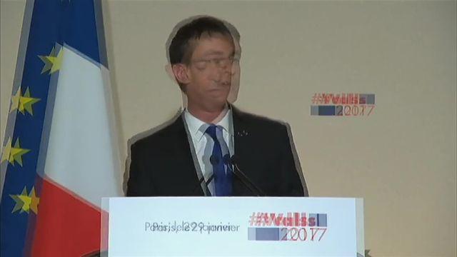 Ambiance tristoune au QG de Manuel Valls