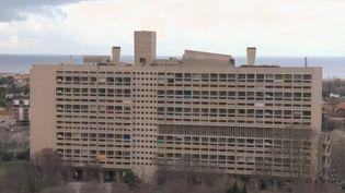 La Cité radieuse de Le Corbusier, à Marseille (Bouches-du-Rhône). (FRANCE 2)