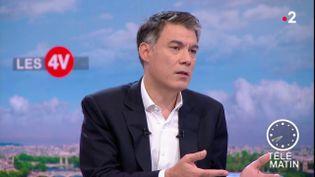 Olivier Faure, patron du PS (France 2)