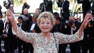 Annie Cordy,au festival de Cannes, en 2015. (VALERY HACHE / AFP)