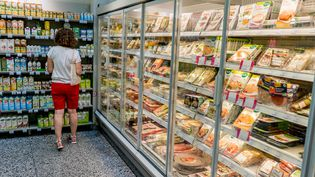 Un supermarché à Paris, le 21 novembre 2017. (GARO / PHANIE / AFP)