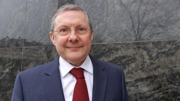 Le sénateur LR de la Manche, Philippe Bas. (LUCIE THUILLET / FRANCE-BLEU COTENTIN)
