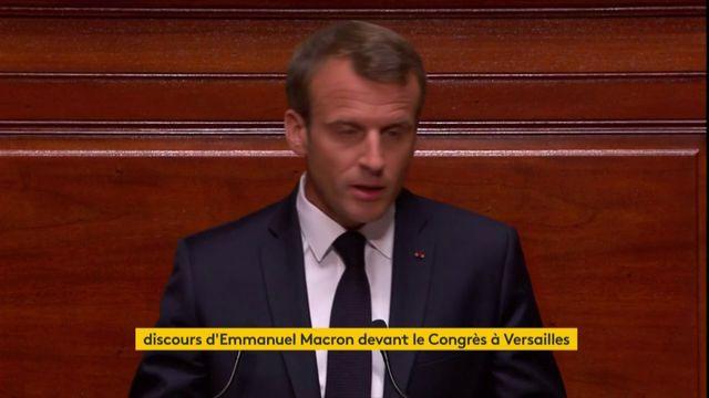 Macron veut être présent lors des débats parlementaires du Congrès en 2019