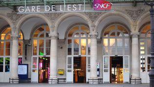 La gare de l'Est, à Paris, le 16 janvier 2015. (MAXPPP)