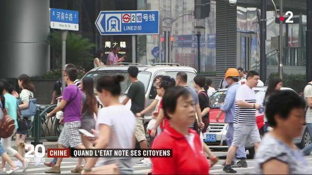 Chine : les citoyens notés par l'État