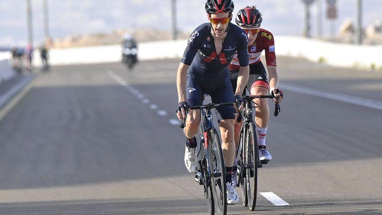 Adam Yates (INEOS Grenadiers) sur le Tour de Catalogne 2021. (FABIO FERRARI/AP/SIPA / SIPA)
