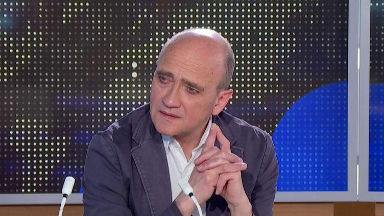 Christophe Ramaux, membre des Économistes atterrés. (FRANCEINFO)