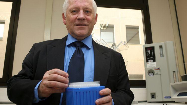 Le fondateur du groupe SNF, René Pich, le 22 octobre 2007, à Andrézieux-Bouthéon (Loire). (MAXPPP)