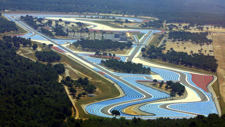 Le circuit Paul-Ricard.  (FRANZ CHAVAROCHE / MAXPPP)