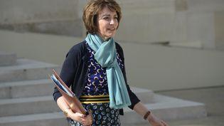 La ministre de la Santé Marisol Touraine, le 8 avril 2015 à l'Elysée à Paris. (LIONEL BONAVENTURE / AFP)
