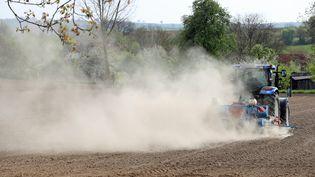 Les agriculteurs traversent un épisode de sécheresse. (JEAN-MARC LOOS / MAXPPP)