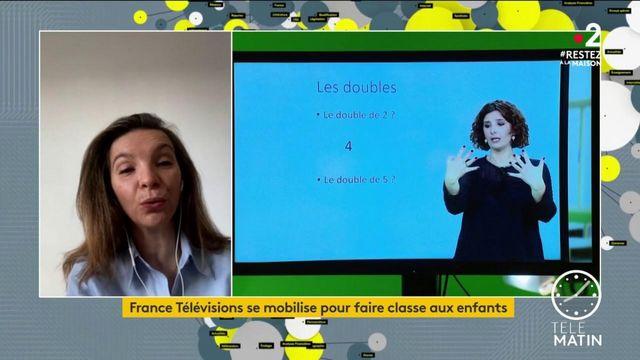 France Télévisions se mobilise pour faire la classe aux enfants