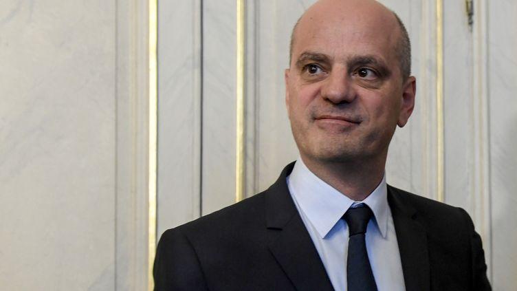 Jean-Michel Blanquer, le ministre de l'Education nationale, le 21 octobre 2018 à Paris. (BERTRAND GUAY / AFP)
