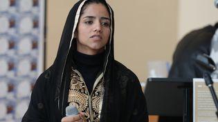 La rappeuse afghane Sonita Alizadeh, au siège des Nations-Unies à New York, le 22 janvier 2018 (LUIZ RAMPELOTTO/EUROPANEWSWIRE / EUROPANEWSWIRE)