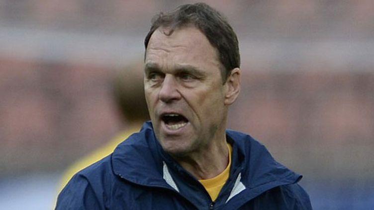 Le sélectionneur de l'équipe d'Australie Holger Osieck