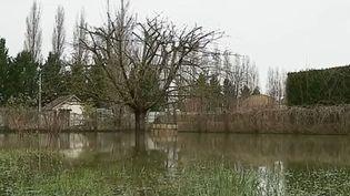 Inondation à Joigny (Yonne) à la suite de la crue de janvier 2018. (FRANCE 3)