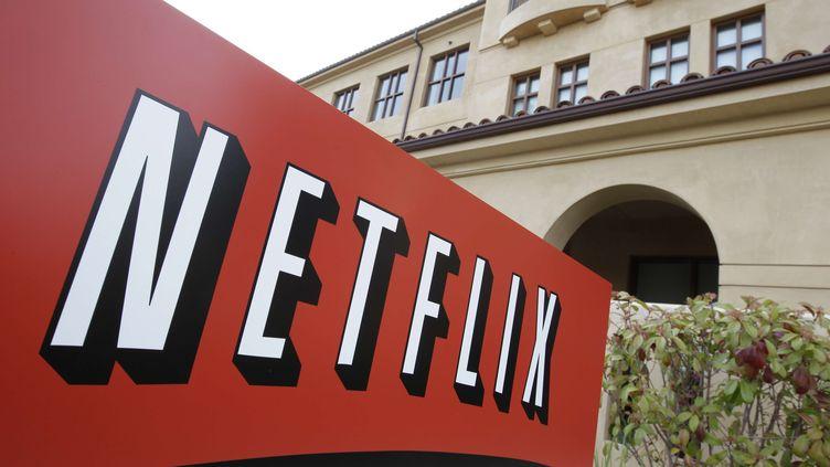 Le siège du groupe américain Netflix, à Los Gatos, en Californie(Etats-Unis), le 20 mars 2012. (PAUL SAKUMA / AP / SIPA)