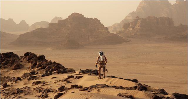 """Matt Damon """"Seul sur Mars""""  (2015 Twentieth Century Fox)"""