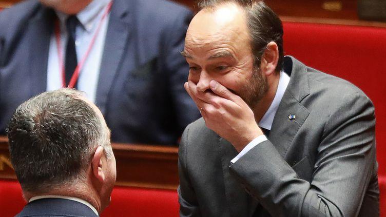 Edouard Philippe, le 28 novembre 2018, à l'Assemblée nationale. (JACQUES DEMARTHON / AFP)