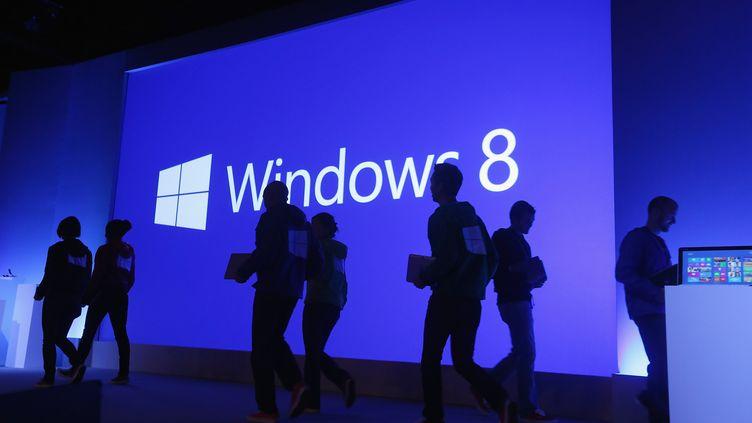 Deux mois après le début de sa commercialisation, le dernier-né des systèmes d'exploitation de Microsoft équipe seulement 1,72% des ordinateurs de bureau. (MARIO TAMA / GETTY IMAGES NORTH AMERICA)