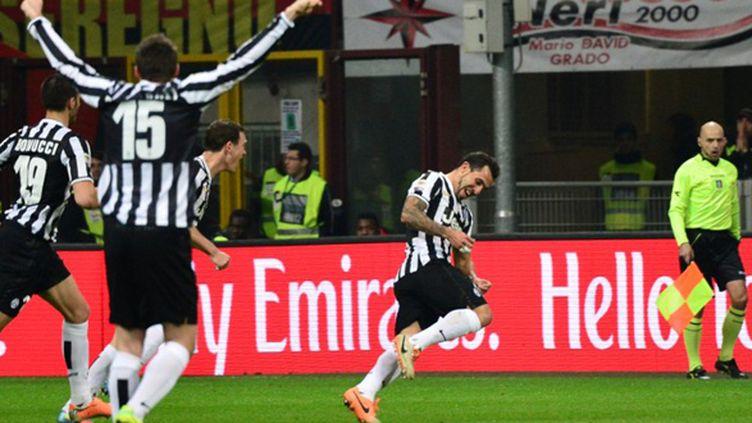 Carlos Tevez (Juventus Turin) (GIUSEPPE CACACE / AFP)