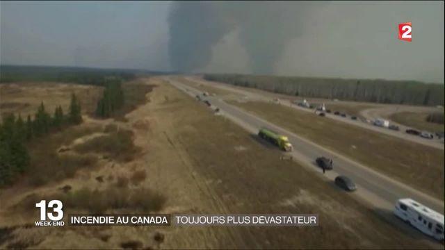 Incendie de Fort McMurray : les feux ont doublé de taille