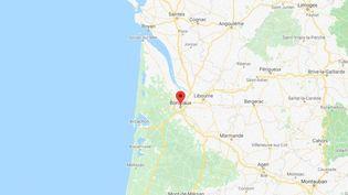 La ville de Bordeaux en Gironde. (GOOGLE MAPS / FRANCETV INFO)