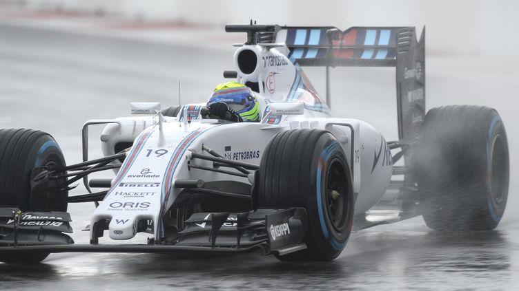 Felipe Massa s'est joué de la pluie à la perfection (ALEXANDER NEMENOV / AFP)